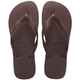 havaianas Top Sandały brązowy